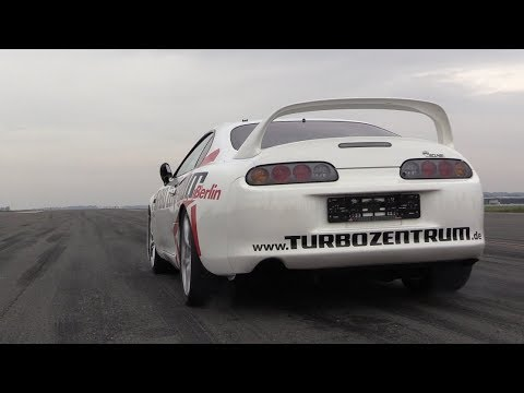 1300HP Toyota Supra Turbo - BRUTAL Turbo SOUNDS & Topspeed RUN!