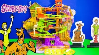 Unboxing and Playing the Scooby Doo Mystery Mine Game with the Assistant