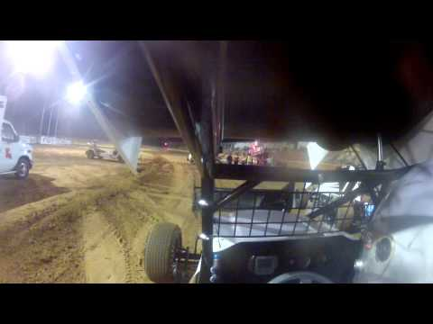 Tommy Johnson feature Race @ Ark-La-Tex Speedway 10/19/12
