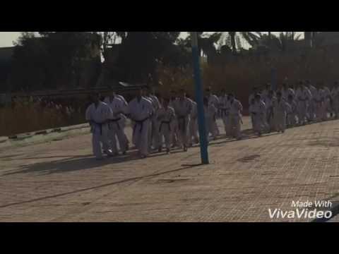 Our champs Iraqi kyokushin federation power center and samurai dojo  Osu