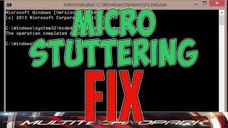 Jak Fixnout MicroSuttering/Lagy Ve hrách  pomocí CMD !