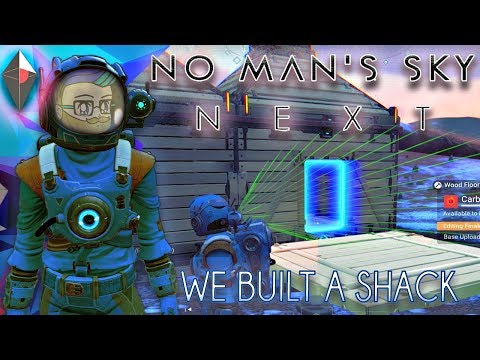 WE BUILT A SHACK IN THE ARCTIC TUNDRA ► No Man's Sky #92