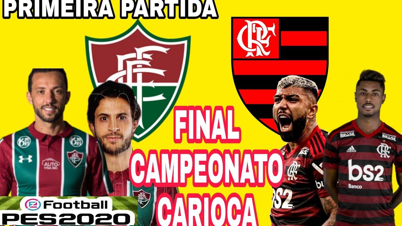 Fluminense x Flamengo- Final do Campeonato Carioca 2020 ...
