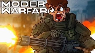 WHY ARE CO-OP MISSIONS SO HARD?! - Call of Duty Modern Warfare!