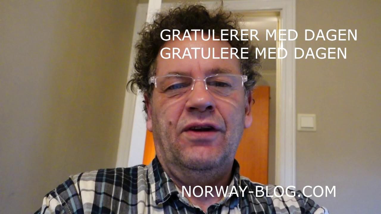 Happy Birthday In Norwegian How Do You Sayhappy Birthday In Norwegian Youtube