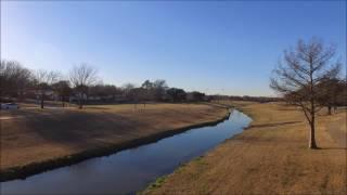 Aerial Drone - East Town Park - Mesquite, TX - DJI Phantom Standard