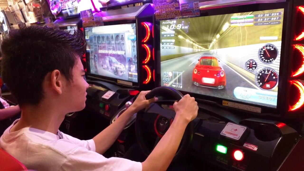 Japanese Arcade Wangan Midnight 5 DX driving car game ...