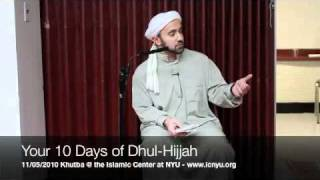 Your 10 Days of Dhul Hijjah - Khalid Latif