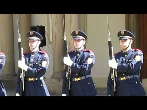 Military Parade at the Prague Castle