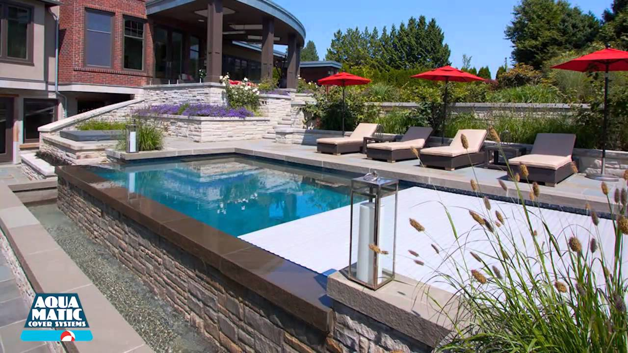 Jacuzzi Pool Covers Aquamatic Cover Systems Hydramatic Energy Efficient Pool