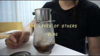 vlog_친구랑 곱창먹고 공포영화보고..에어팟 철가루 …