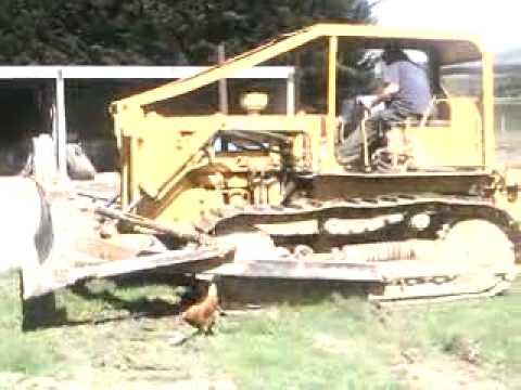 Fixing the brakes on a Caterpillar D6 Bulldozer