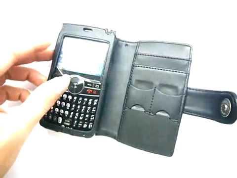 Capa de couro Premium Full proteção Horizontal para SAMSUNG SGH i617