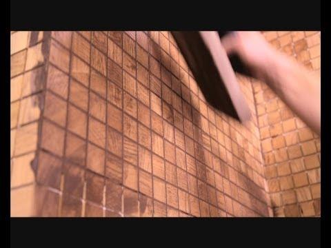 Технология ремонта: деревянная мозаика - Дача