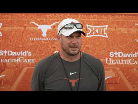 The Bottom Line - Tom Herman Talks Saturday's Game Against Rice