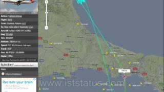 ARIZA YAPAN A340 TEKNİK İLE GÖRÜŞÜYOR