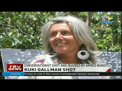 Conservationist shot and injured by armed bandits