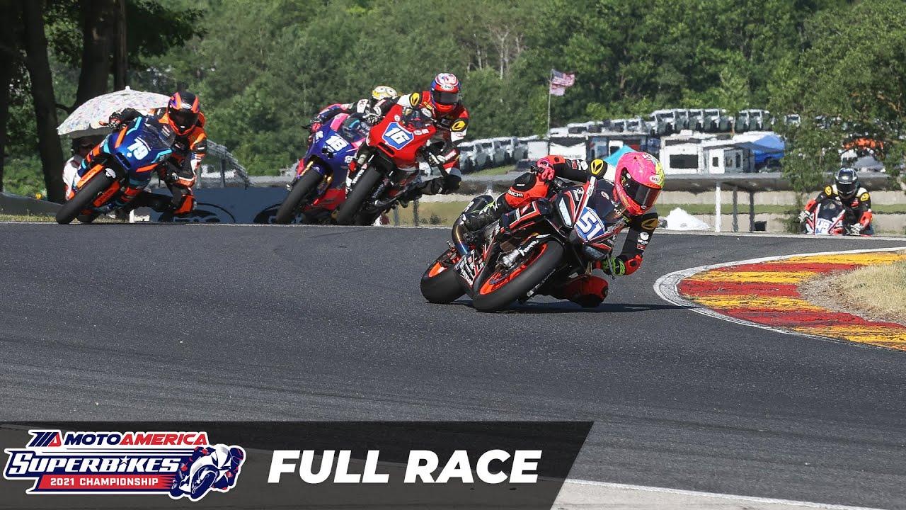 MotoAmerica Twins Cup Race at Road America 2021