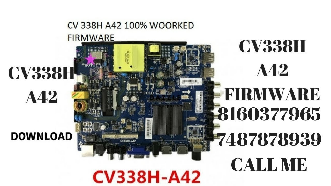 how to download CV338H A42(512RAM&4GB INTERNAL) smart android firmware