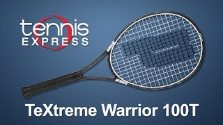 Prince TeXtreme Warrior 100T Racquet Review | Tennis Express