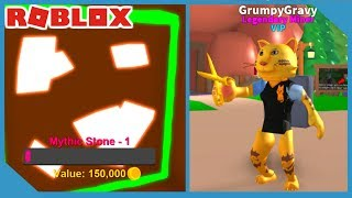 HOW POWERFUL ARE GOLDEN SCISSORS IN ROBLOX MINING SIMULATOR