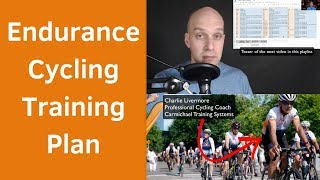 Endurance Cycling Training Plan (Ultimate Guide)