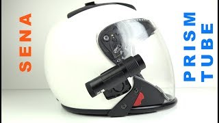 SENA PRISM TUBE - The Best Motorcycle Helmet Camera (for me)