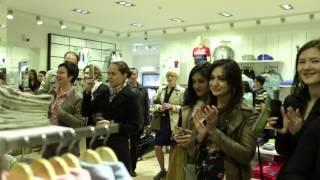 Открытие фирменного магазина Bossini в Бишкеке(, 2015-04-15T03:42:51.000Z)