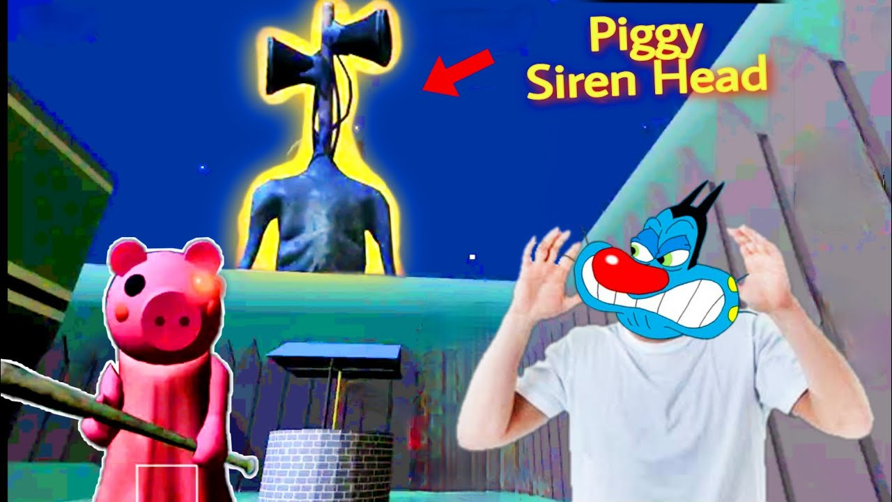 Siren Head Attacked Piggy House 🏡 | Piggy Chapter 1 Siren Head Mod With Oggy and Jack