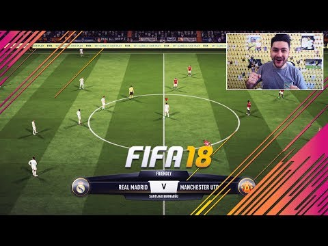 FIFA 18 FULL GAMEPLAY REAL MADRID vs MANCHESTER UNITED - 1080 FULL HD 60 FPS