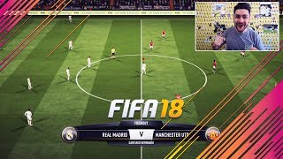 fifa 18 full gameplay real madrid vs manchester united 1080 full hd 60 fps