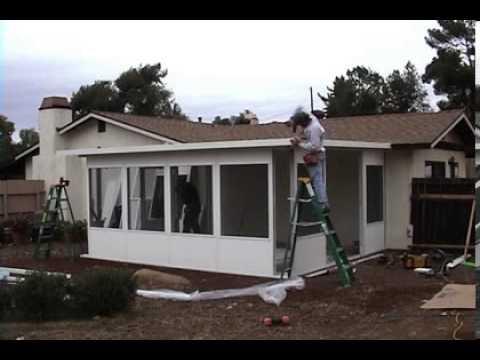 Patio Enclosure Installation Video