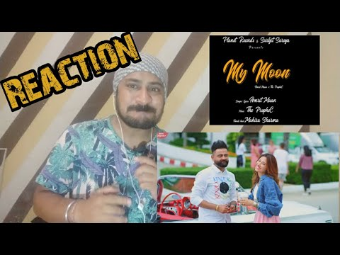Download Lagu  Amrit Maan : My Moon Reaction | PropheC | Mahira Sharma| Tru Makers | Vicky Kee Reaction Mp3 Free