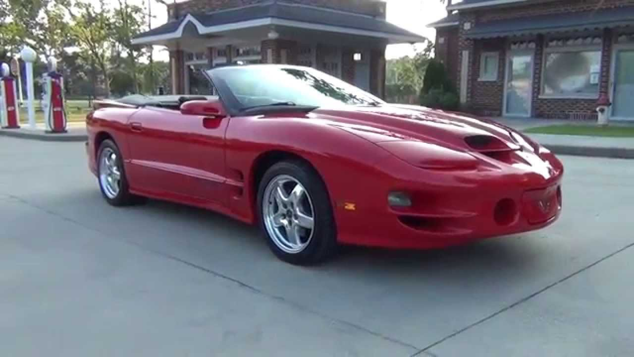 For Or Trade 2002 Trans Am Ws6 Convertible