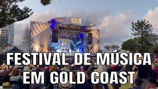 Festival de música na Australia - Blues on Broadbeach festival 2021 Gold Coast | Fazer as Malas
