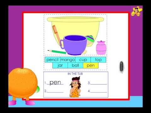 Kindergarten English Worksheets