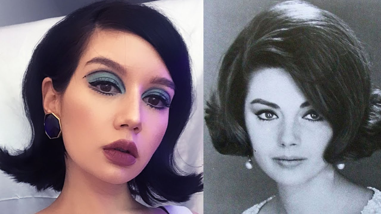 Diy Vintage Hairstyle I Tried The 1960s Bubble Flip Youtube
