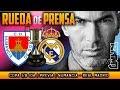 Numancia - Real Madrid Rueda de prensa previa (03/01/2018) | Copa del Rey 1/8 Ida