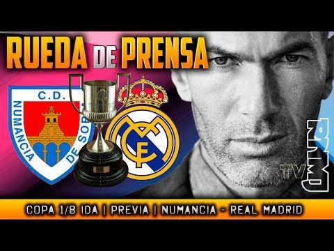 Rueda de prensa previa Numancia - Real Madrid