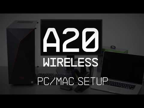 A20 Gaming Headset PC & MAC Setup Guide || ASTRO Gaming