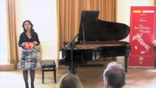 Presentazione Recital Duo Falconi Bacchini