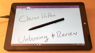 Chuwi HiPen Stylus for the Dual Boot Chuwi Hi12 - Unboxing & Review