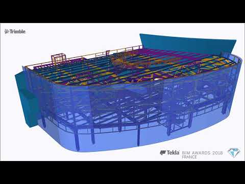 Tekla France BIM Awards 2018 - CMBC : Aeroport