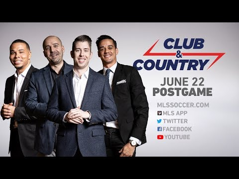 Club And Country: Gold Cup - USMNT Vs. Trinidad And Tobago Postgame Show