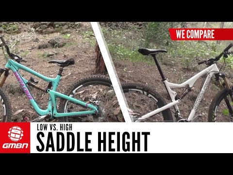 Seat Down Vs Seat Up - What's Actually The Difference For Mountain Biking?