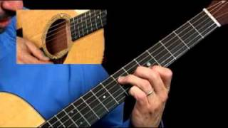 How to Play Amazing Grace on the Guitar - Part 2 - Acoustic Guitar Lessons