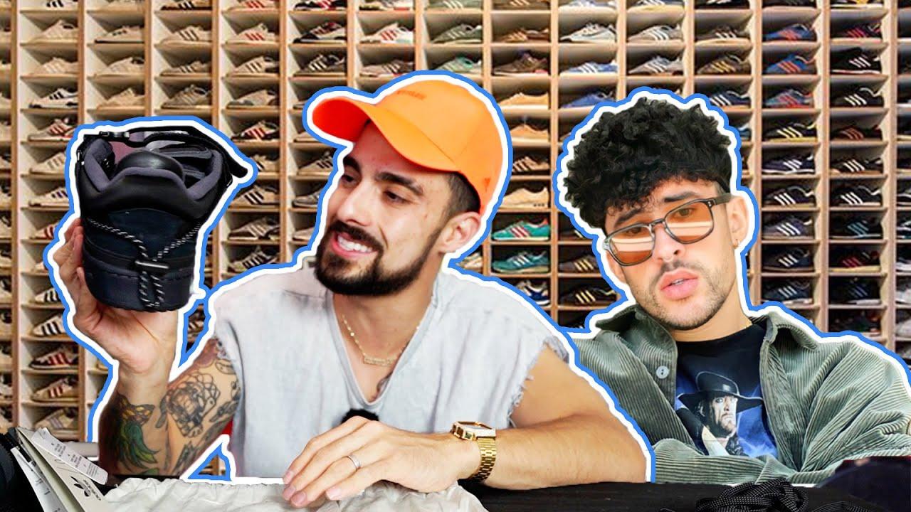 COLECCIÓN DE SNEAKERS BAD BUNNY 😱 Adidas Forum