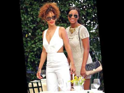 Rihanna and Melissa (Best Friends)