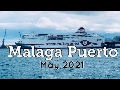 Malaga Port Walk Tour in May 2021 Malaga Costa Del Sol