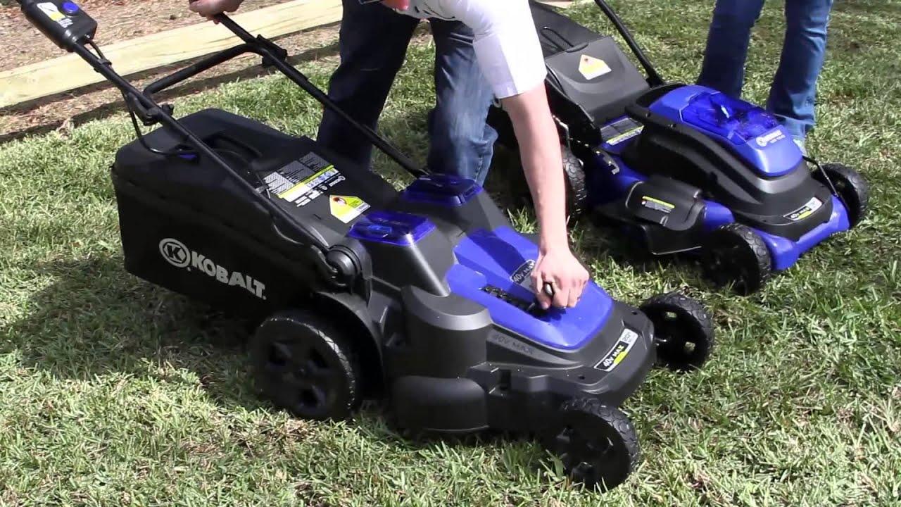 2014 KOBALT Outdoor Tool Experience Lawn Mowers